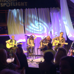 Foreigner playing a show at one of Metronome's NYC private party venues.